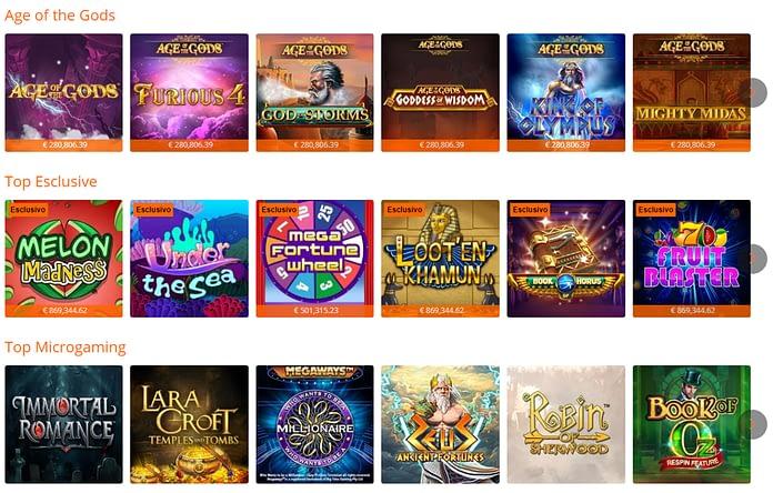 slot gioco digitale