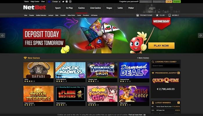 Slot Casino e NetBet