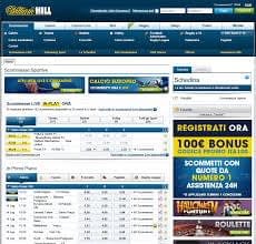 Caratteristiche dell'app mobile di William Hill